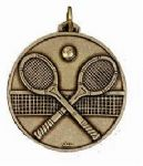 Tennis Rackets Medal